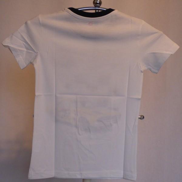 Chlapecké tričko - s autem, bílé