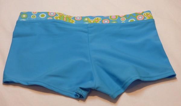 Dívčí plavky - s motýlkama,dvojdílné - modré