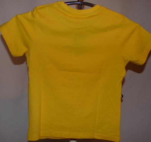 Chlapecké tričko - Mimoni, žluté, krátký rukáv