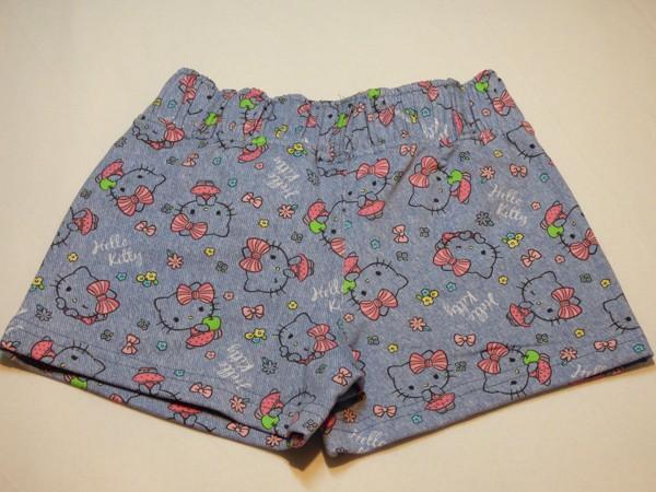 Dívčí šortky - Hello Kitty, modré