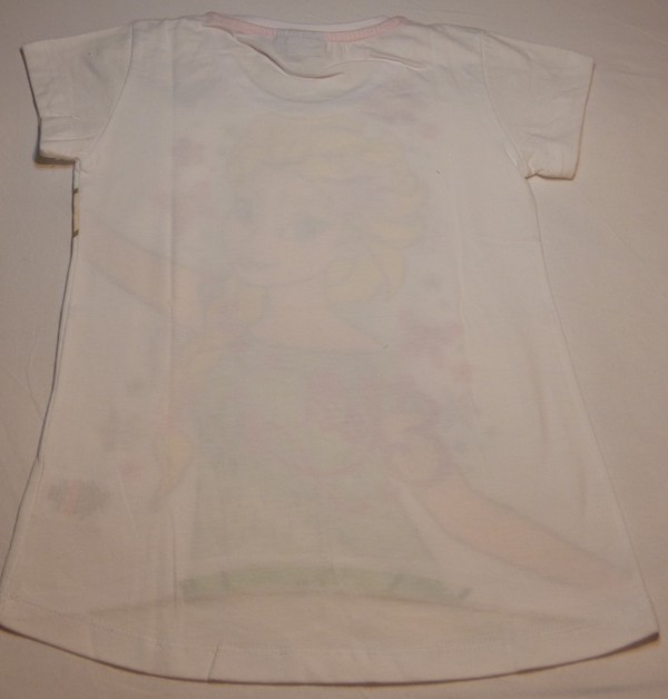 Dívčí tričko - Frozen, bílé