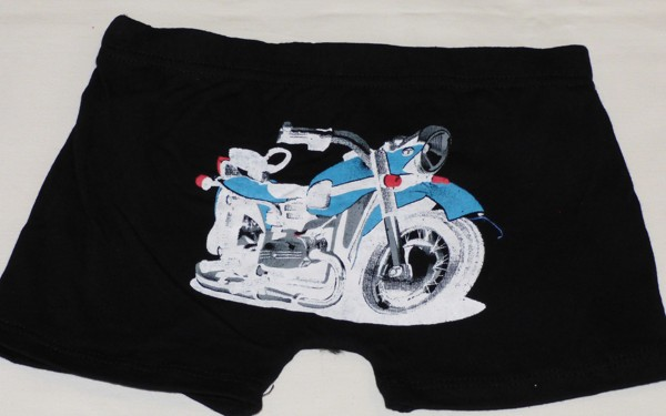 Chlapecké boxerky - Motorka, černé