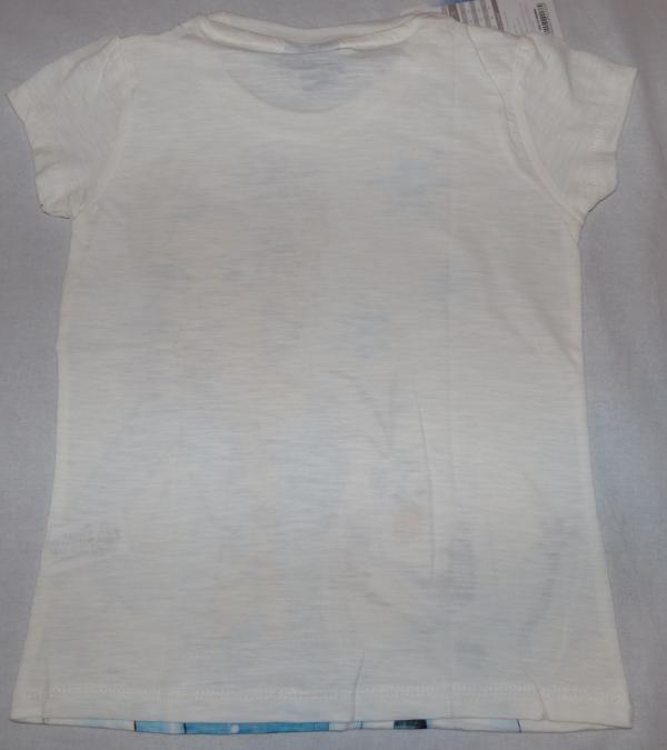 Dívčí tričko - Frozen, bílá