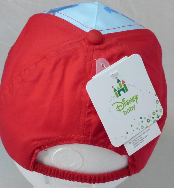 Dívčí a chlapecká kšiltovka - Mickey, červená