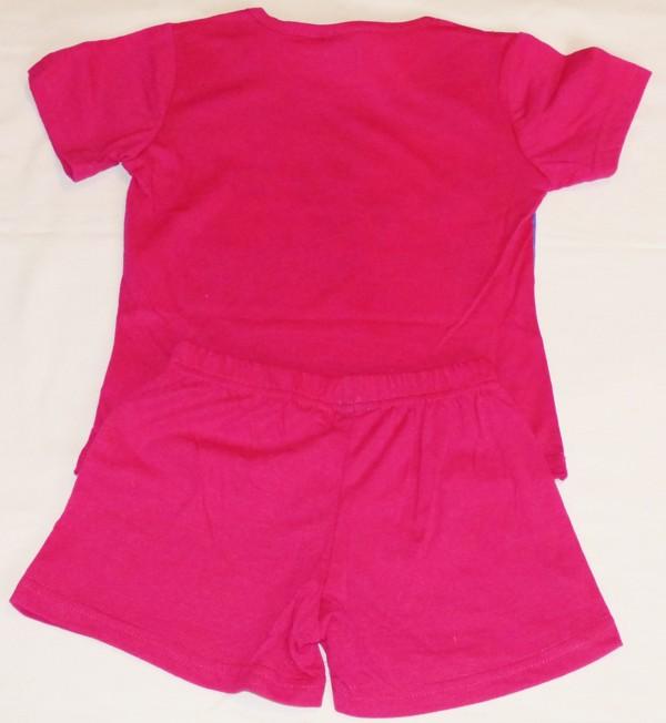 Dívčí pyžamo - Frozen, tm.růžové