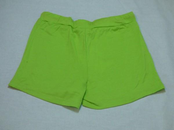 Dívčí šortky - zelené