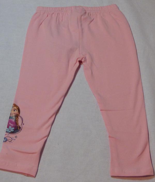 Dívčí legíny Frozen - světle růžové