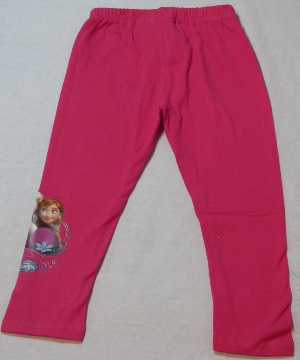 Dívčí legíny Frozen - tmavě růžové