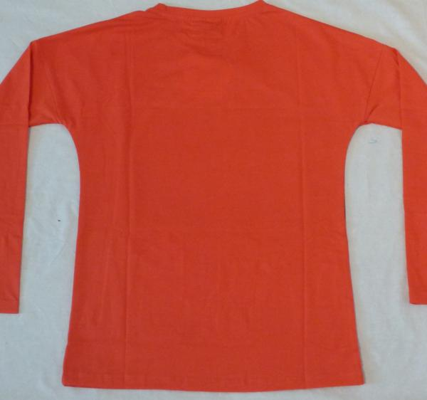 Dívčí tričko s koňmi - červené