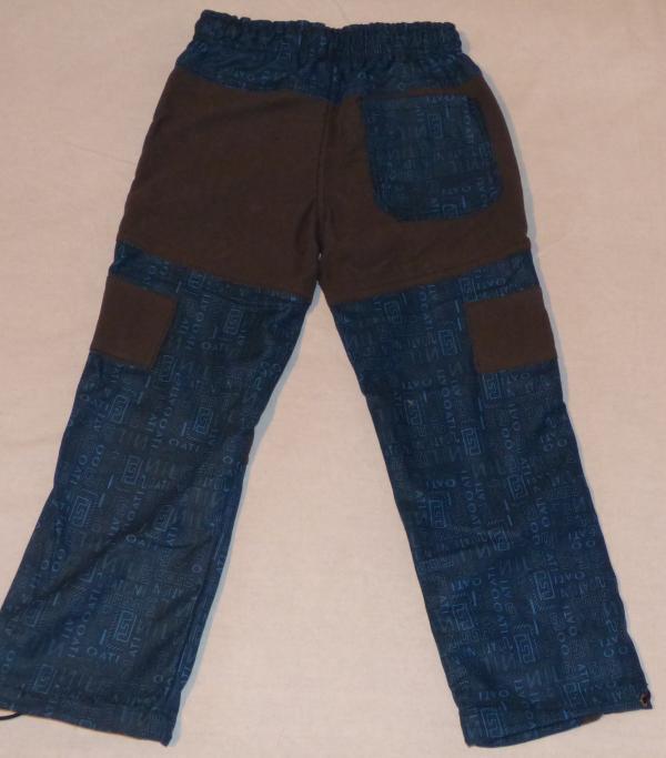 Chlapecké kalhoty outdoor - modré