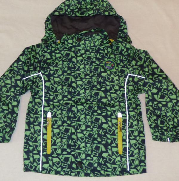 Chlapecká šusťáková bunda - nám. modrá, zelená