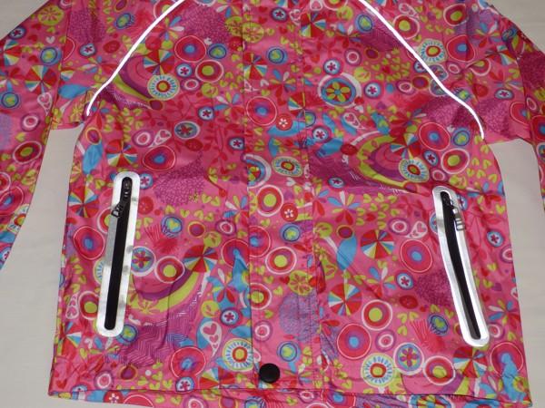 Dívčí šusťáková bunda - barevná