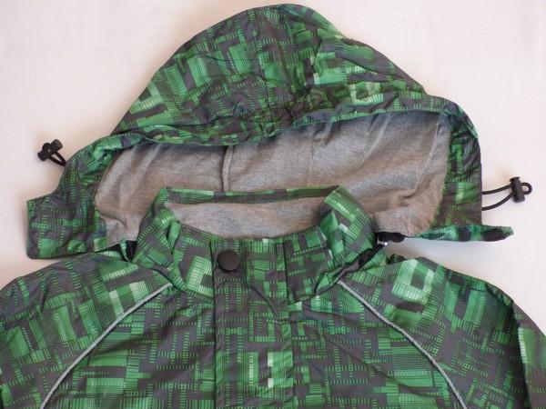 Chlapecká šusťáková bunda - zelená