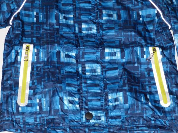 Chlapecká šusťáková bunda - modrá