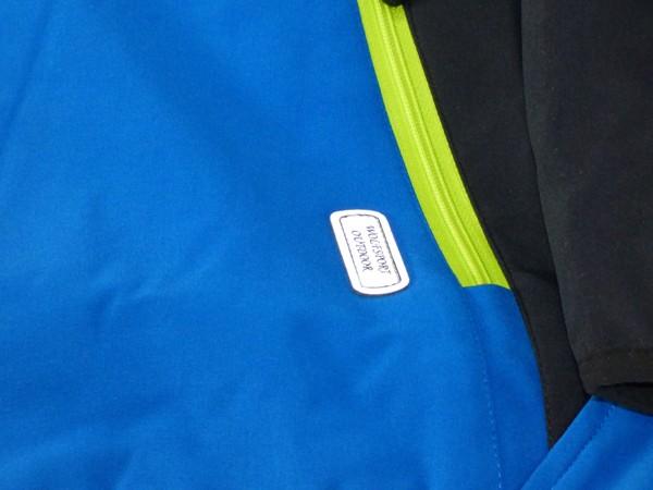 Chlapecká softshelová bunda - modrá