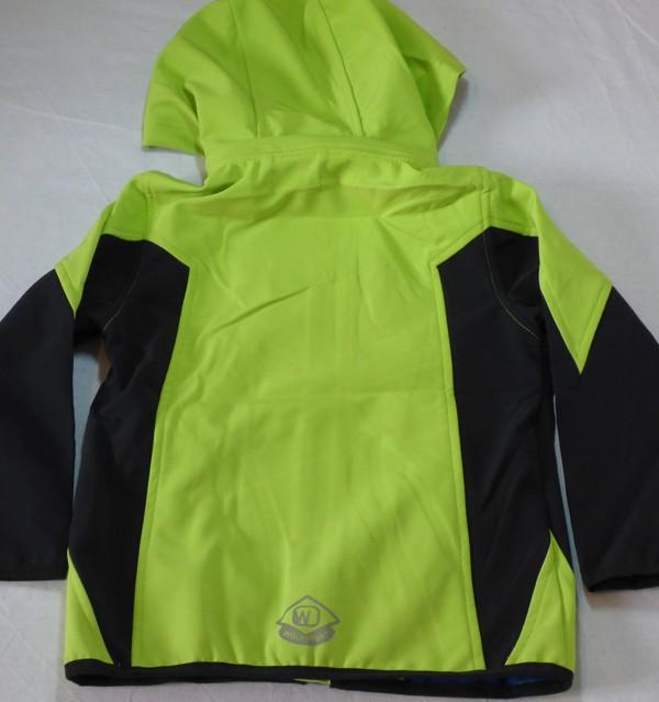Chlapecká softshelová bunda - zelená
