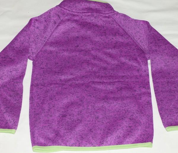 Dívčí mikina - teplá - fialová