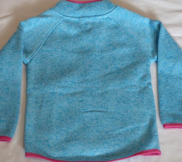 Dívčí mikina - teplá - modrá