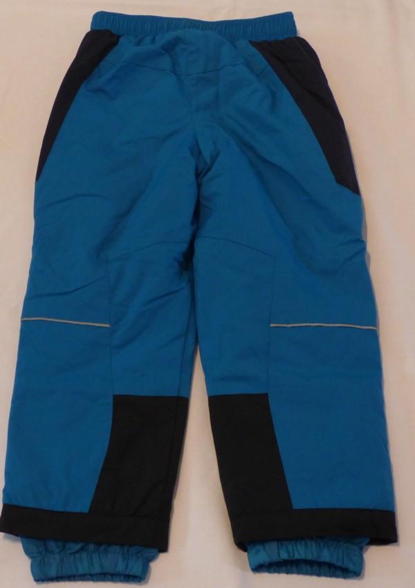 Dívčí a chlapecké zateplené kalhoty - modré