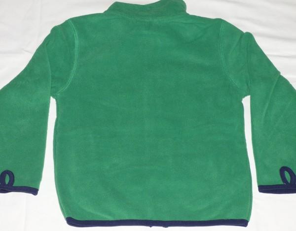Chlapecká mikina - teplá - zelená