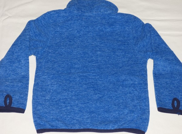 Chlapecká mikina - teplá - modrá