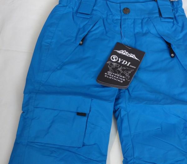 Lyžařské kalhoty - dětské, modré