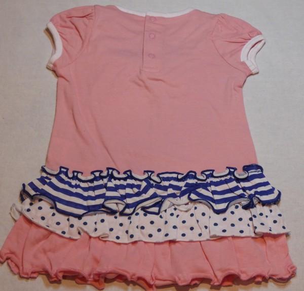 Kojenecké šaty - Charmmykitty, růžové