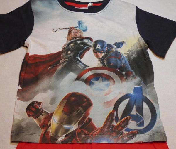 Chlapecké pyžamo - Avengers, nám.modrá