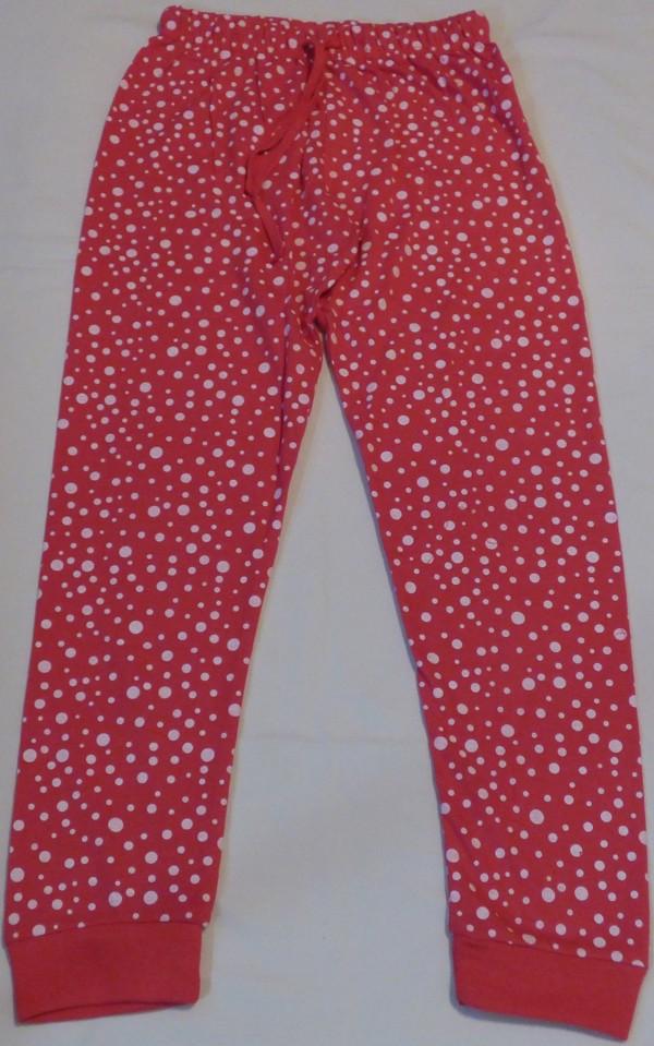 Dívčí pyžamo - Sova, dl., červené