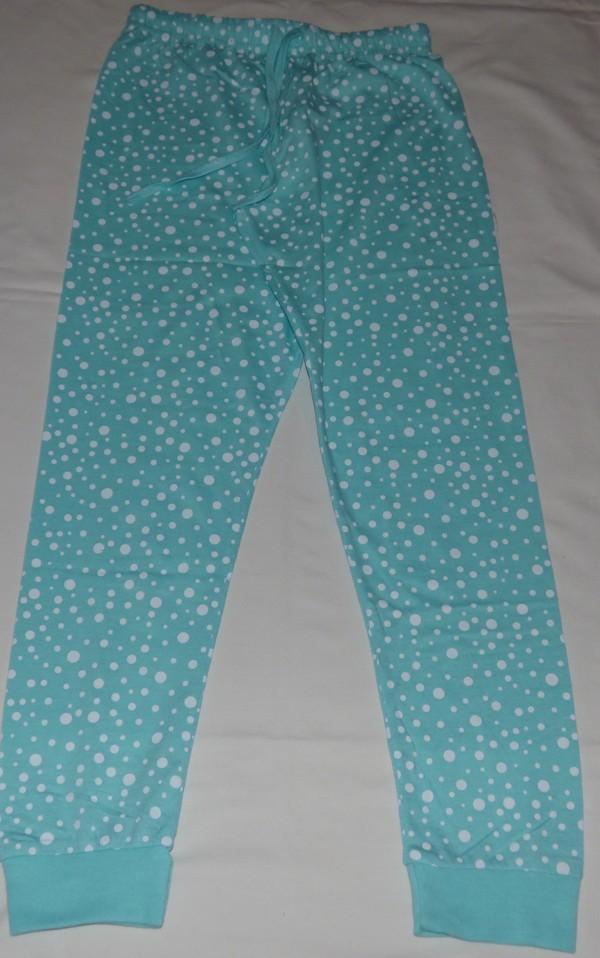 Dívčí pyžamo - Sova, dl., tyrkysové