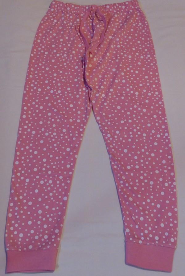 Dívčí pyžamo - Sova, dl., růžové