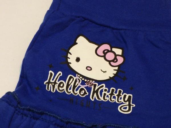 Dívčí sukně - Hello Kitty,modrá