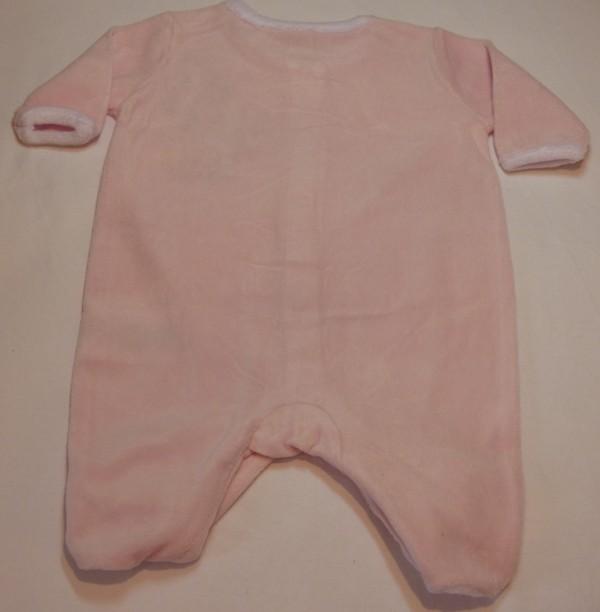 Kojenecký overal - Minie, růžový