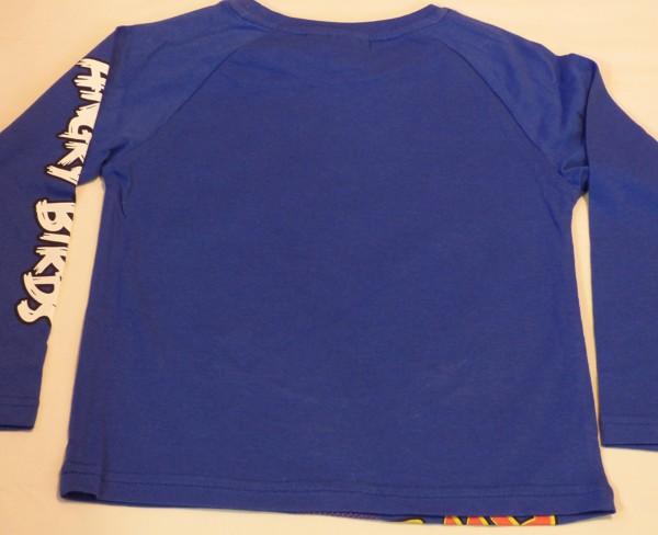Chlapecké tričko dl.r. - Angry Birds, modré