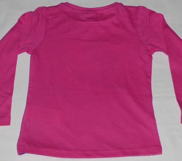 Dívčí tričko dl.r. - Ledové království, růžové
