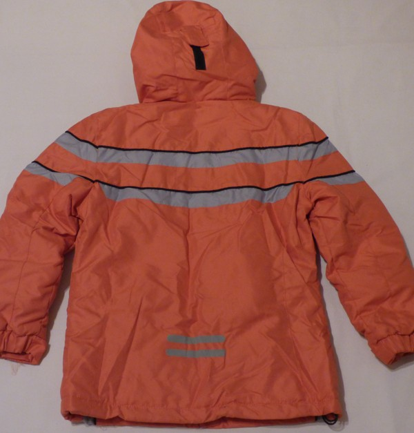 Lyžařská bunda - pruh, oranžová