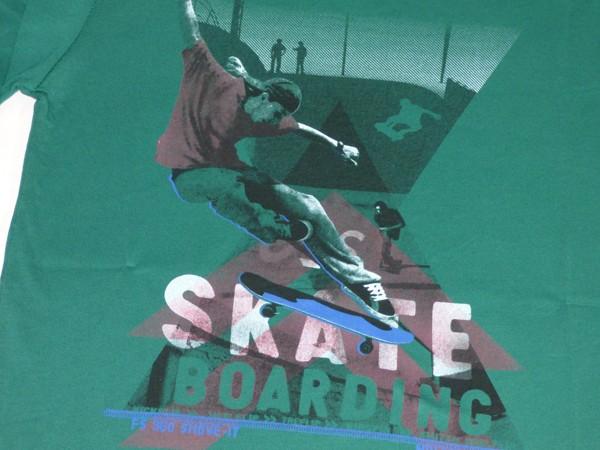 Chlapecké tričko dl.r. - X Skate - zelené