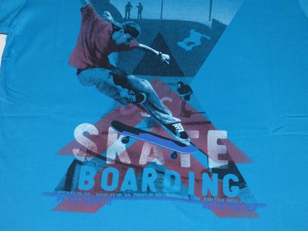 Chlapecké tričko dl.r. - X Skate - modré