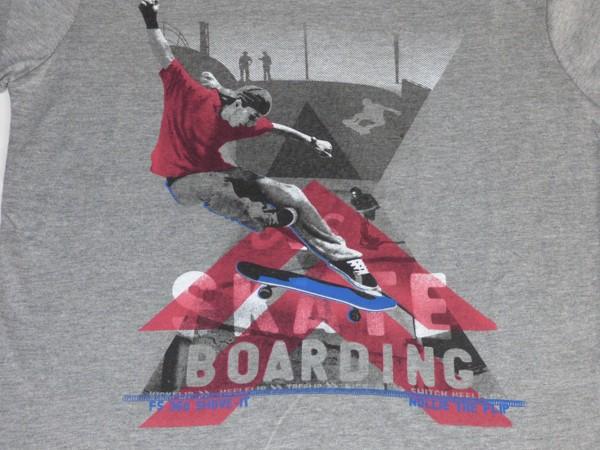 Chlapecké tričko dl.r. - X Skate - šedé