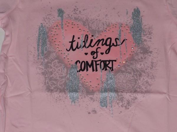 Dívčí tričko - Srdíčko, sv.růžové