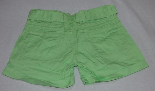 Dívčí kraťasy - zelené