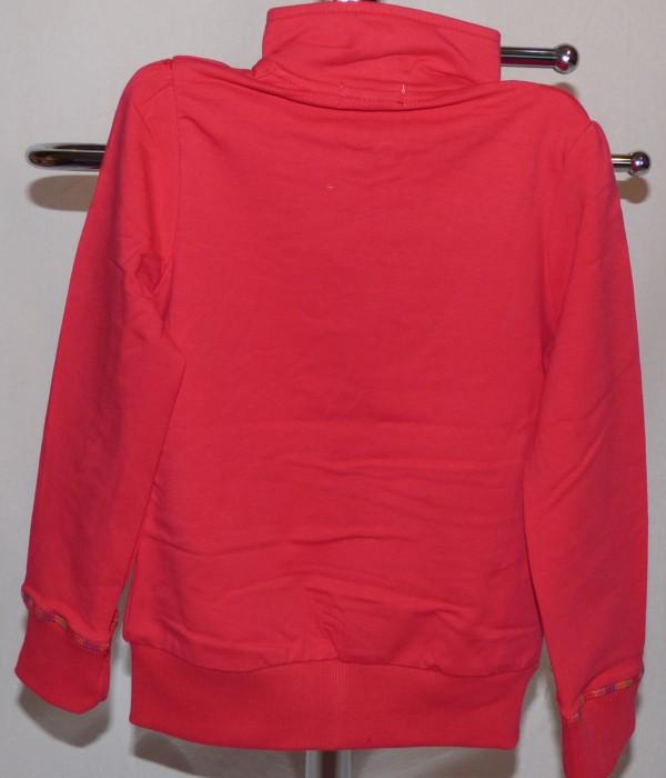 Dívčí mikina tenká - červená