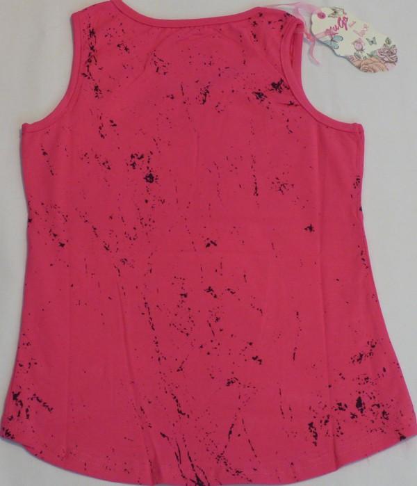 Dívčí tílko - FIND, tmavě růžové