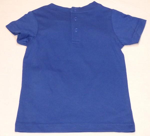 Chlapecké tričko - Abgry Birds - tm.modré, kr.ruk