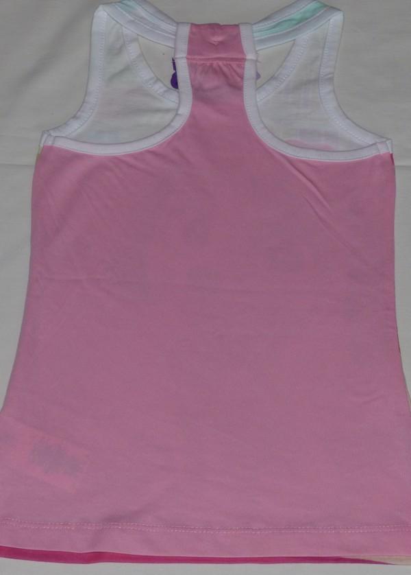Dívčí šaty - Tlapková patrola, růžové