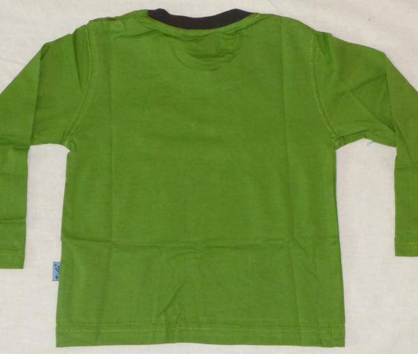 Chlapecké tričko s kostrou dinosaura - zelené