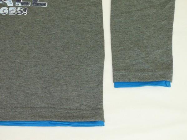 Chlapecké tričko dl.r. - Sea plane - šedé