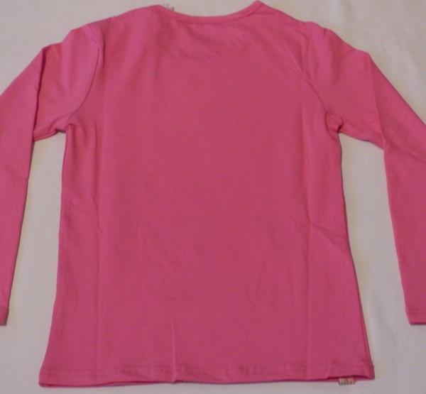 Dívčí tričko dl.r. - True love, růžové