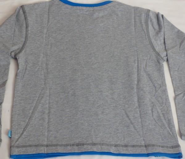 Chlapecké tričko Skate Crew, dl.r. - šedé
