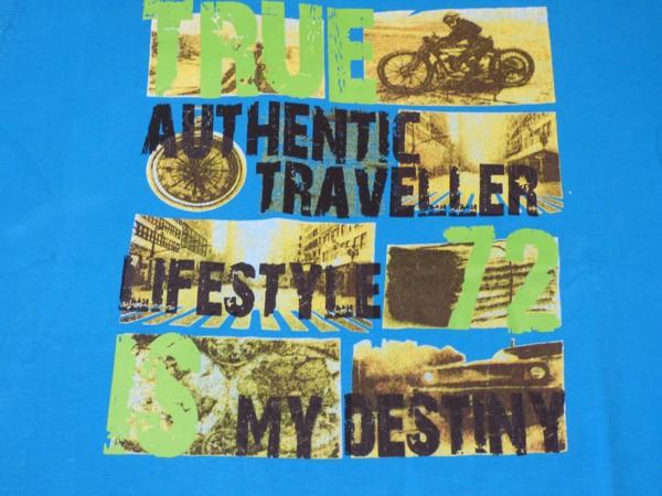 Chlapecké tričko - sv.modré,dl.r.